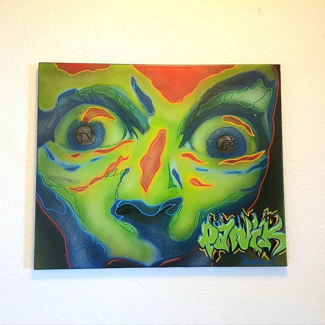 artigall: Panik Gemälde Eostone
