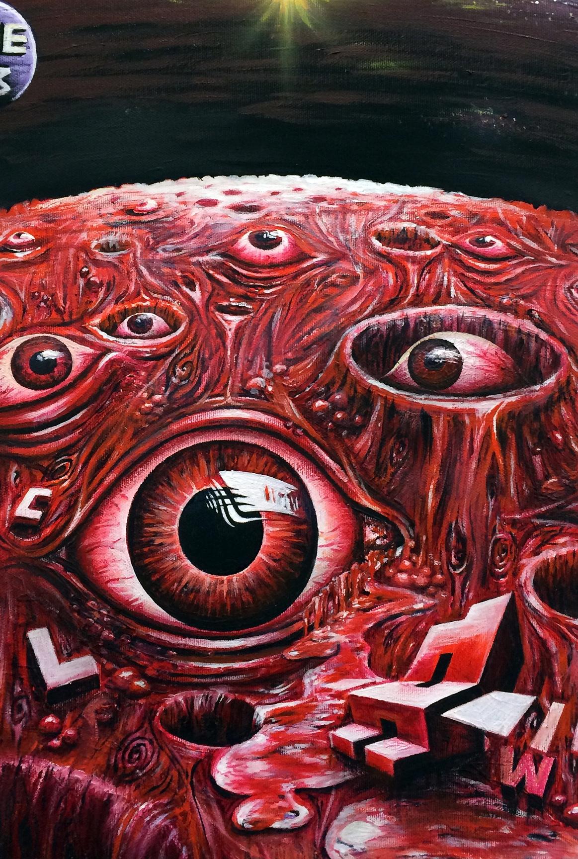artigall: Redeye planet Kunstwerk Detailansicht