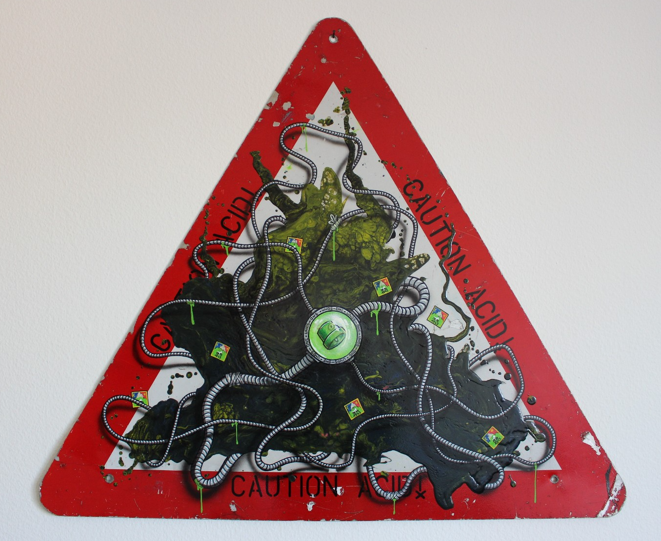 artigall: new artworks CAUTION ACID UNOS