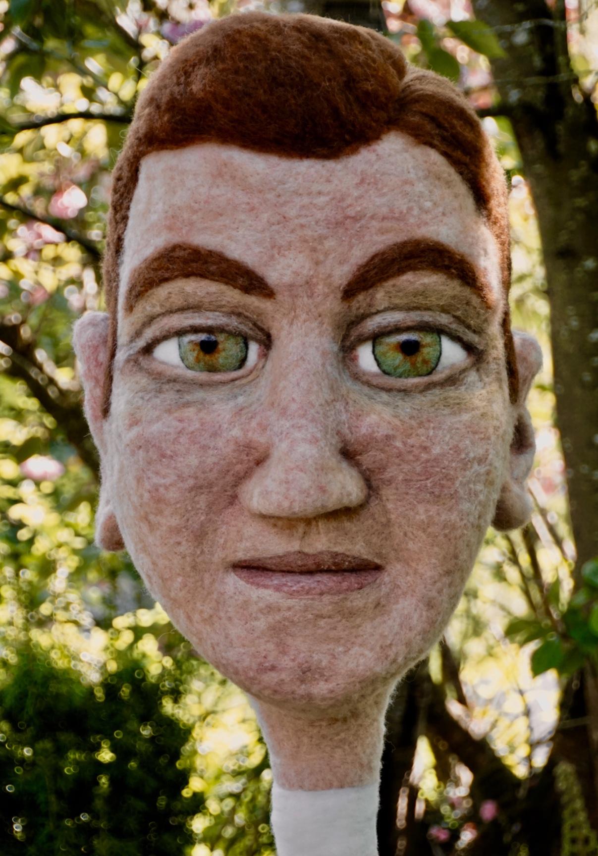 artigall: Laurus Skulpturen Filzkopf