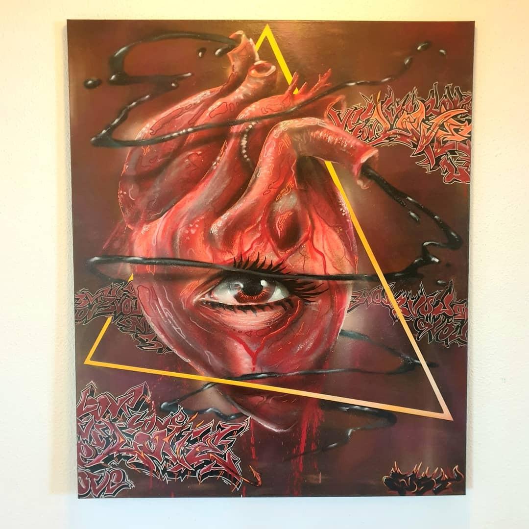 artigall: Blick Mit Dem Herzen  Gemälde Eostone