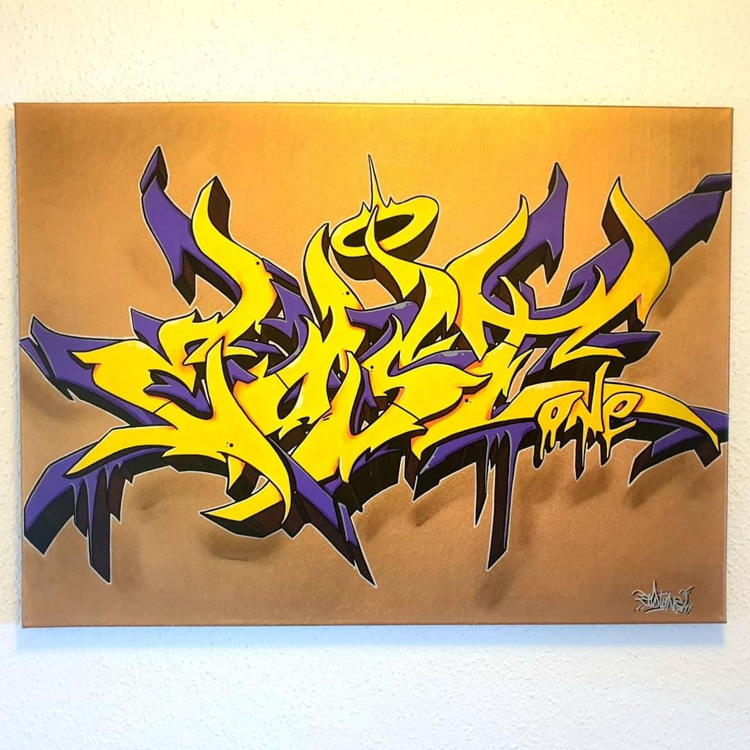 artigall: Goldfieber Style Gemälde Eostone