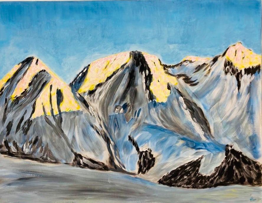 artigall: Dreigestirn Gemälde Gion Battesta Huonder