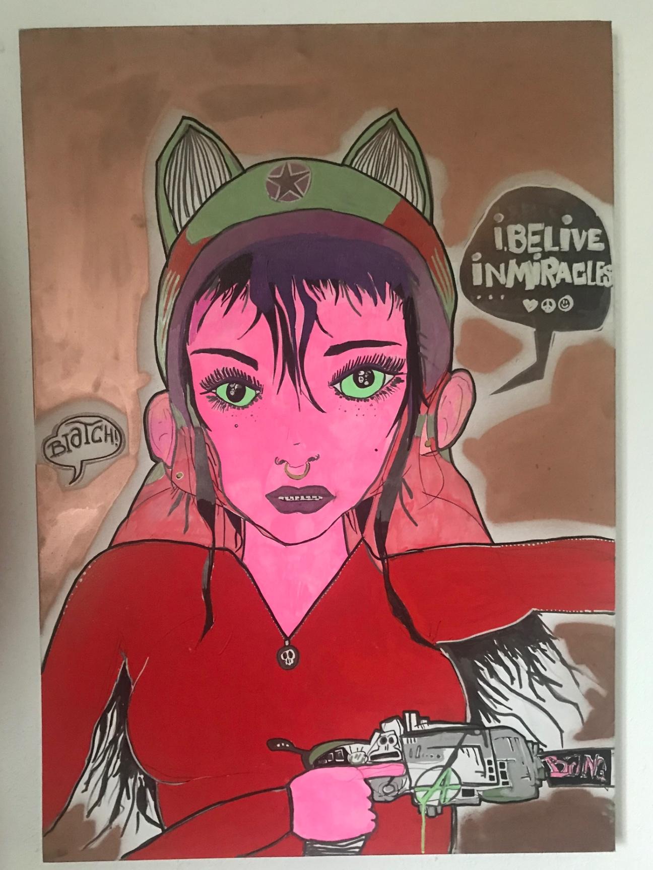 artigall: neue Kunstwerke Tankgirl skywalker