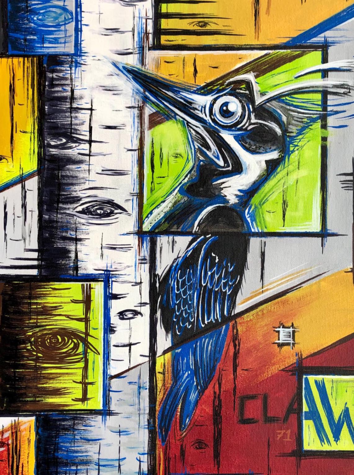 artigall: Birdlife Artwork detail view