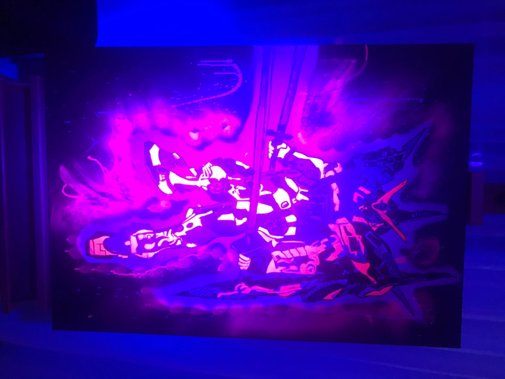 artigall: Gundamstyle  Gemälde skywalker