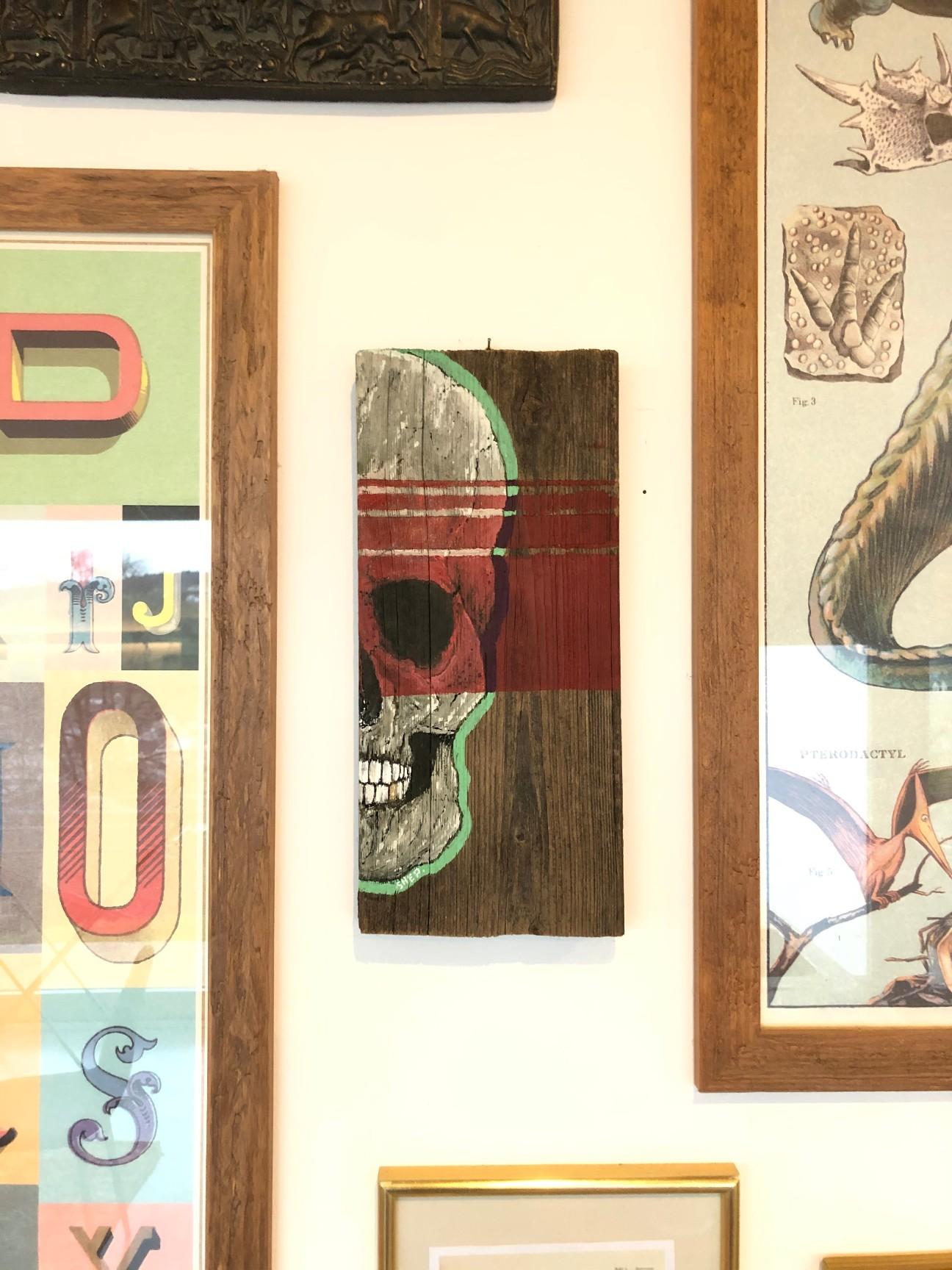 artigall: Skull Nerve Gemälde Shep*art