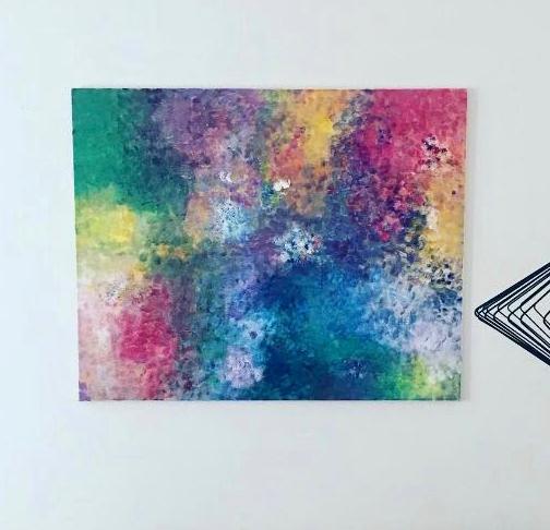 artigall: neue Kunstwerke Farbenspiel Jasmin
